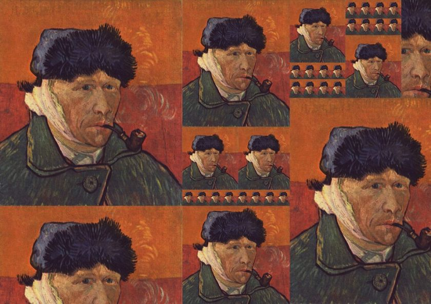 Fototapeta z uchem van Gogh'a