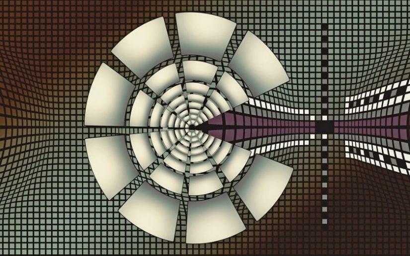 Fototapeta z motywem futurystycznym
