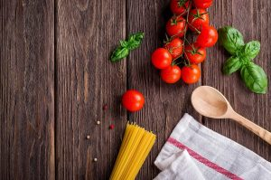 fototapety do kuchni - gotowanie