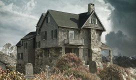 Dom w domu na fototapecie - domcepcja