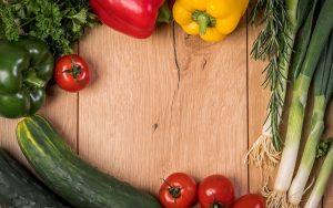 fototapety do kuchni - warzywa